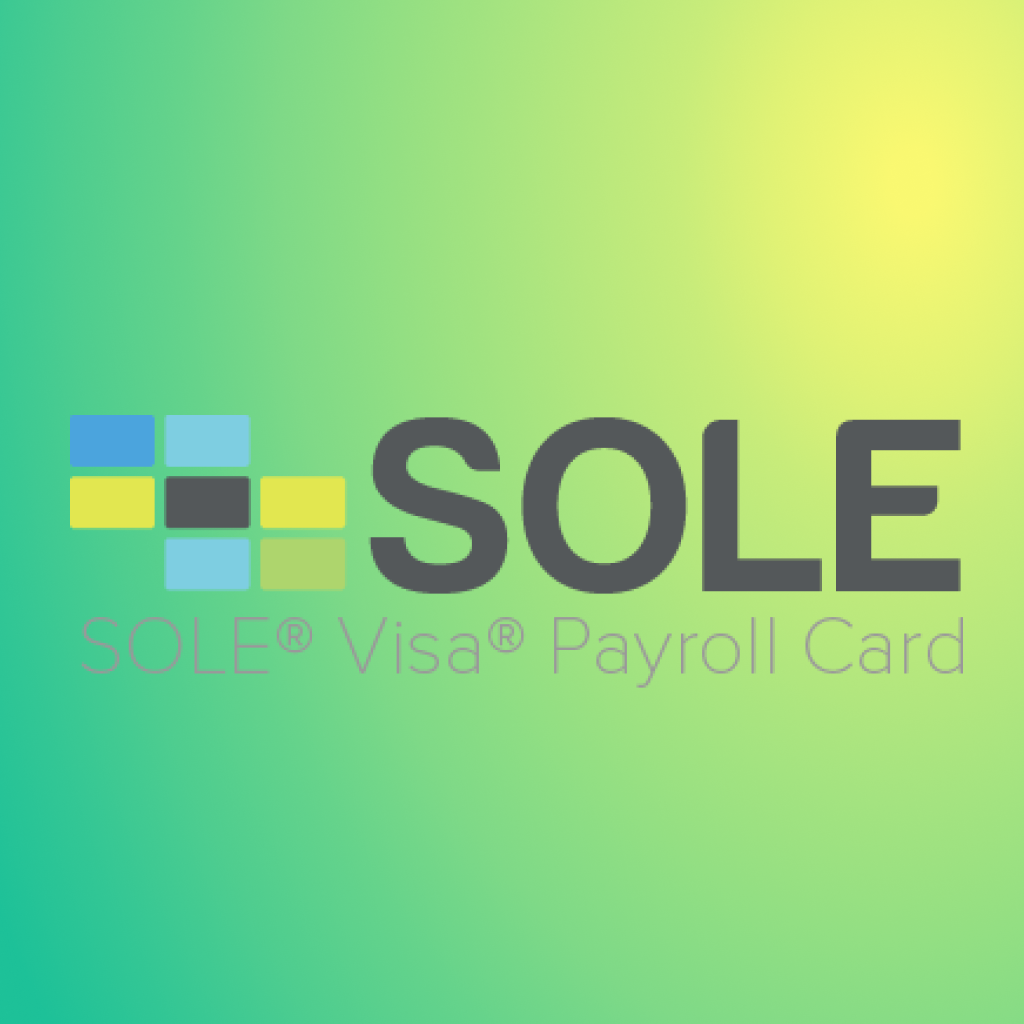 sole financial visa payroll card